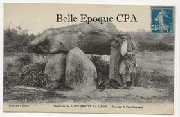 36 - La Châtre-Langlin / Dolmen De PASSEBONNEAU ++++ Librairie Péraud ++++ 1929 ++++ - France