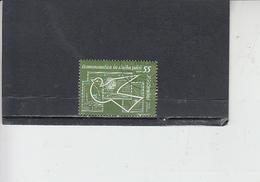 ROMANIA  1962 - Yvert  A 163 - Spazio - 1948-.... Repubbliche