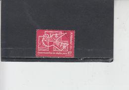 ROMANIA  1962 - Yvert  A 165 - Cosmo - 1948-.... Repubbliche