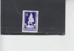 ROMANIA  1960 - Yvert  1678 - Vittoria - 1948-.... Repubbliche