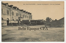 36 - CHATEAUROUX - Quartier Bordessoulle - Parc Aux Équipages +++ Coll. G. G., Châteauroux +++ 1925 - Chateauroux