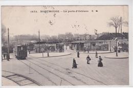 92 MONTROUGE, La Porte D'Orléans, Animée, Tramway - Montrouge