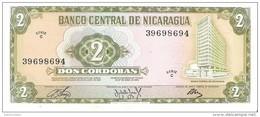 Nicaragua - Pick 121 - 2 Cordobas 1972 - Unc - Nicaragua