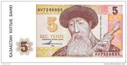 Kazakhstan - Pick 9 - 5 Tenge 1993 - Unc - Kazakhstan
