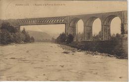 Roanne-Coo.  -   L'Amblève Et Le Pont  Du Chemin De Fer   -  1926   Naar   Ostende - Stavelot