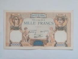 FRANCIA 1000 FRANCS 1938 - 1871-1952 Antichi Franchi Circolanti Nel XX Secolo