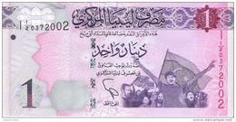 Libya - Pick 76 - 1 Dinar 2013 - Unc - Libia