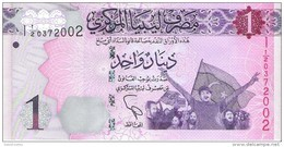 Libya - Pick 76 - 1 Dinar 2013 - Unc - Libya