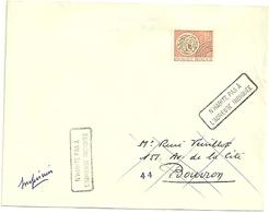 LOIRE ATLANTIQUE - Dépt N° 44 = BOUVRON 1967 = RETOUR ENVOYEUR N° 7467 Sur Préo N° 124 + Cachet A8 - Manual Postmarks