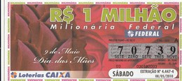 Brasil - 2010 - 9 DE MAIO DIA DAS MAES - Billetes De Lotería