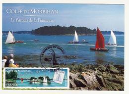 Carte Maximum GOLFE Du Morbihan - Cartoline Maximum
