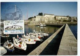 Carte Maximum BELLE ILE Le Palais La Citadelle - 1980-89