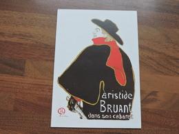 Aristide BRIANT Dans Son Cabaret Par Toulouse-Lautrec Ref 2250 - Musées