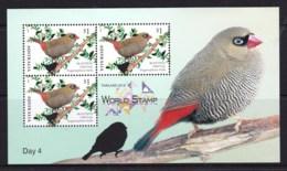 Australia 2018 Thailand Show Day 4 Beautiful Firetail Bird Minisheet MNH - 2010-... Elizabeth II