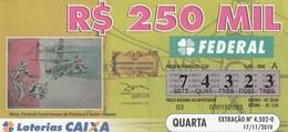 Brasil - 2010 - OBRA: FESTIVAL CATARINENSE DE FOLCLORE - AUTOR HASSIS - Billetes De Lotería