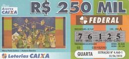 Brasil - 2010 - OBRA: FESTA JUNINA - AUTORA: DJANIRA - Billetes De Lotería