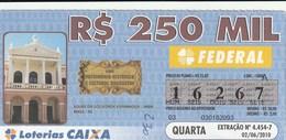 Brasil - 2010 - SOLAR DA SOCIEDADE ESPANHOLA - IMBA - BAGÉ - RS - Billetes De Lotería