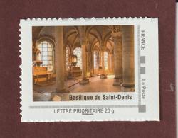Basilique De SAINT DENIS  - MonTimbraMoi  2009 - Neuf ** - Collector Ile De France -  Lettre Prioritaire 20g - France