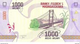 Madagascar - Pick New - 1000 Ariary 2017 - Unc - Madagascar