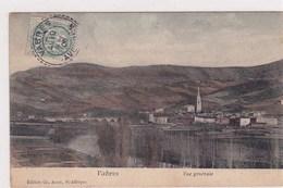 Vabres Vue Générale Edit Ch.Amat St Afrique 1906 Colorisée - Vabres
