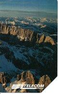 Carte Prépayée Italie Italia Montagne  Moutain Phonecard  (G 92) - Publiques Ordinaires