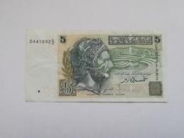 TUNISIA 5 DINARS 2008 - Tunesien