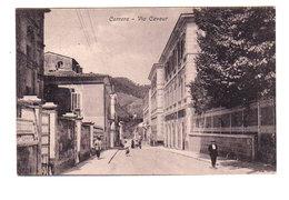 CPA CARRARA : Via Cavour - Circulée En ? ( Voir Scan ) - Carrara