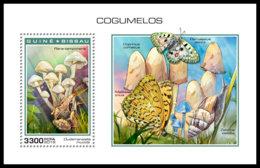 GUINEA BISSAU 2018 MNH Mushrooms Pilze Champignons S/S - OFFICIAL ISSUE - DH1904 - Pilze