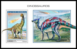 GUINEA BISSAU 2018 MNH Dinosaurs Dinosaurier Dinosaures S/S - OFFICIAL ISSUE - DH1904 - Stamps