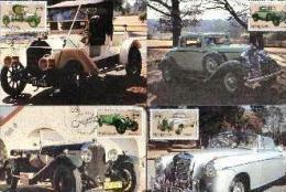 VENDA, 1986, Veteran Cars,  Mint Maxicards, Nr(s.) 38-41 - Venda