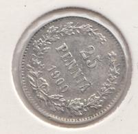 @Y@   FINLAND   25  Pennia 1909  Zilver / Ag     (2746) - Finnland