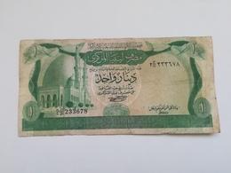 LIBIA 1 DINAR 1981 - Libya