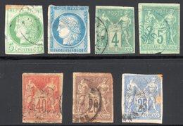 Colonies Générales : Lot 7 Timbres Cote : 107€ - France (former Colonies & Protectorates)