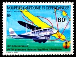 NOUV.-CALEDONIE 1985 - Yv. PA 247 NEUF   Faciale= 0,67 EUR - Liaison Aérien. Régulière Int.  ..Réf.NCE24366 - Nuevos