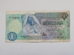 LIBIA 1 DINAR 1988 - Libya