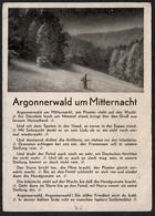 C2561 - Liedkarte - Argonnen - Argonnerwald Um Mitternacht - K. Wülbern - B. Schott`s Söhne - Sonstige