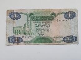LIBIA 1 DINAR 1984 - Libia
