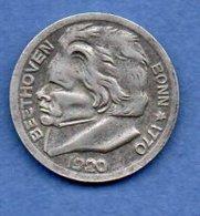 Stadt Bonn  -  10 Pfennig 1920  -  état  TTB - Monétaires/De Nécessité