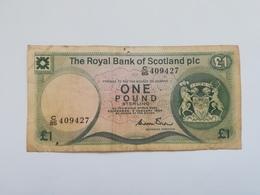 SCOZIA 1 POUND 1984 - Scozia