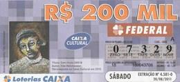Brasil - 2011 - TITULO SEM TITULO 2005 B - AUTOR TIDE HELLMEISTER - Billetes De Lotería