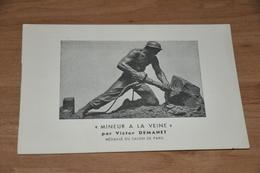 7717- MINEUR DE LA VEINE, MEDAILLE DU SALON DE PARIS - Mines
