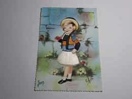 Refboite 38 -  Carte Postale Costume De Quimper  Brodée ( Editions Editeur Jean Audierne N° 6 )  Un Trou De Punaise - Quimper