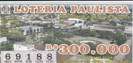 Brasil - 2007 - HOMANAGEM A 38ª FACIP DE JALES - Billetes De Lotería
