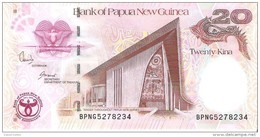 Papua New Guinea - Pick 36 - 20 Kina 2008 - Unc - Commemorative - Papua New Guinea