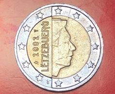 LUSSEMBRUGO - 2002 - Moneta - Ritratto Di Sua Altezza Reale Il Granduca Henri - Euro - 2.00 - Lussemburgo