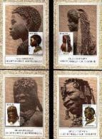 SOUTH WEST AFRICA 1984, Maxicards 10-13, Head Dressing, Stampnr(s). 554-557 - South West Africa (1923-1990)