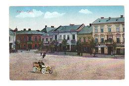 CPA POLOGNE POLSKA : Kielce - Rynek - En Couleur Et Belle Ancienne Voiture - Pologne
