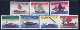 Vietnam MNH Perf Stamps 1989 : Regional Fishing Junk Of Viet Nam (Ms564) - Viêt-Nam