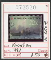 Kroatien - Hrvatska - Croatie - Michel 481 - Oo Oblit. Used Gebruikt - Kroatien