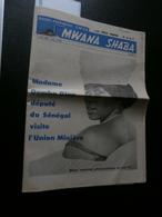 Mwana Shaba 4 Avril 1965 : Congo, Union Minière, Cimenkat, Kisanga, P Baeke, COR - Geschiedenis